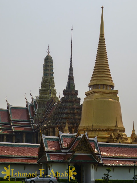 Royal temples of Bangkok Grand Palace