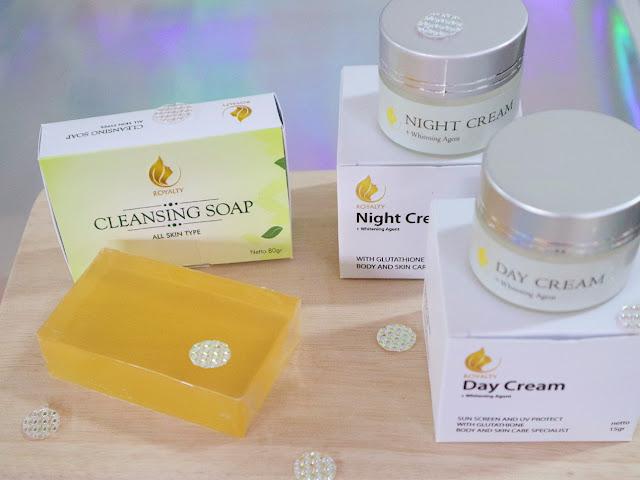 Royalty Cosmetics skincare