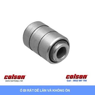 Bánh xe kháng tĩnh điện Colson Mỹ càng xoay phi 90 | 2-3646-445C sử dụng ổ bi banhxedaycolson.com