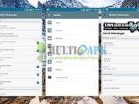 Aplikasi BBM Mod iMessenger V6 Base 3.0.0.18 Terbaru