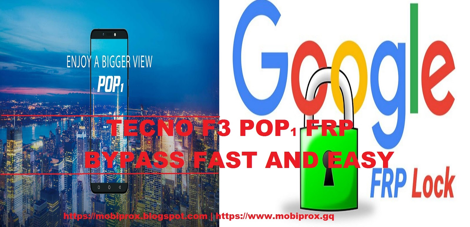 HOW TO BYPASS TECNO F3 POP1 FRP USING NCK MTK DONGLE