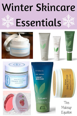 winter skincare essentials. dry skin beauty products. cold weather skincare.