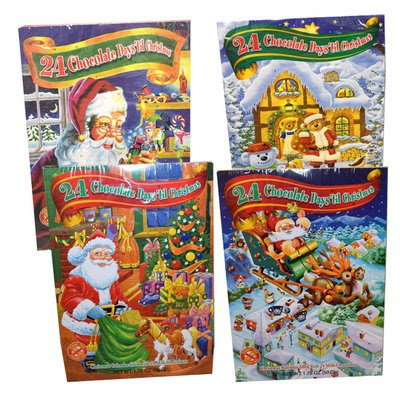 Christmas Tradition Box: Chocolate Advent Calendars and Polar ...