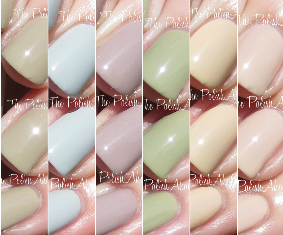 the polishaholic zoya whispers collection swatches review