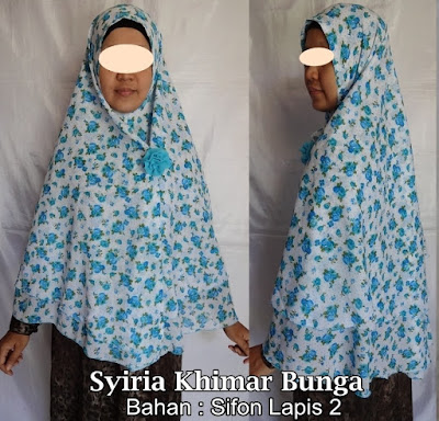 Model Jilbab Terbaru Syiria Khimar