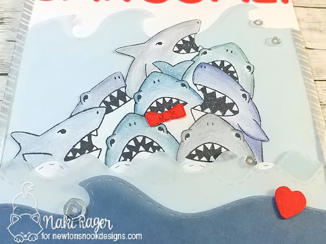 Newton's Nook Designs Shark Frenzy Set - Naki Rager