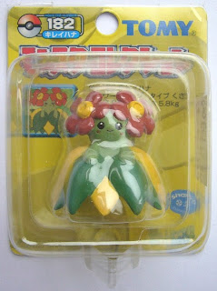 Bellossom figure Tomy Monster Collection yellow package series