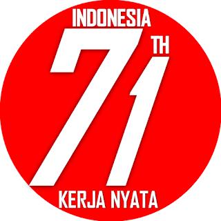 Kartu Ucapan Hari Kemerdekaan Indonesia ke 71