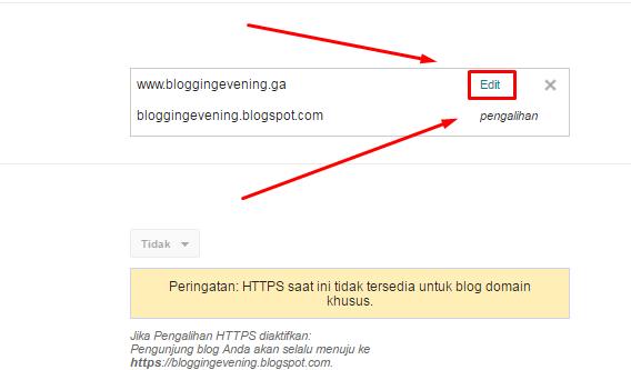 > Mengatur Domain Agar Dapat Diakses Tanpa www