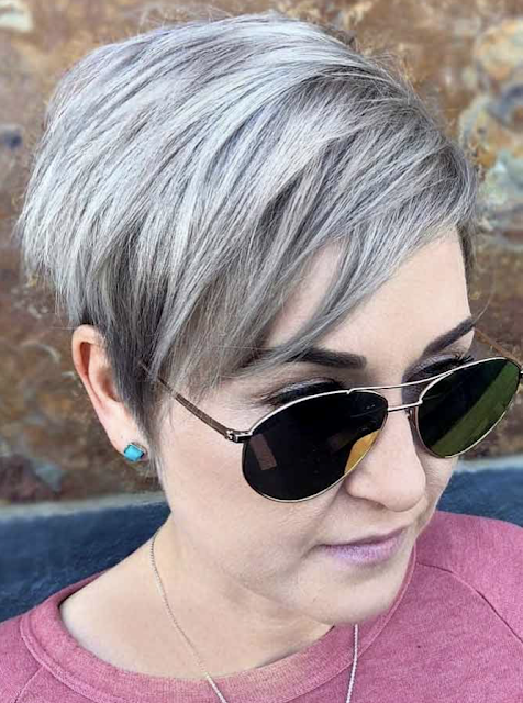 latest hairstyles for short pixie hair 2019