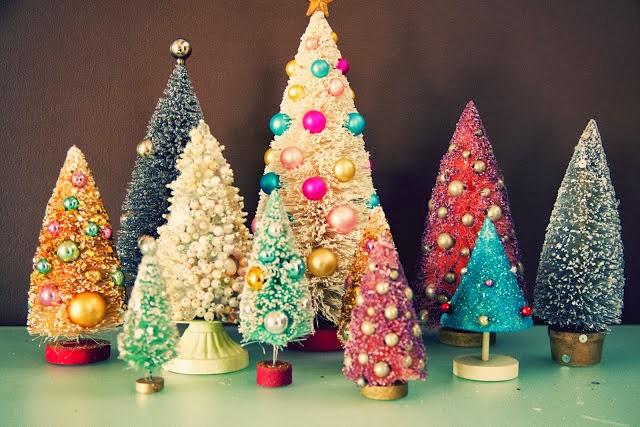 Bottle Brush Christmas Tree