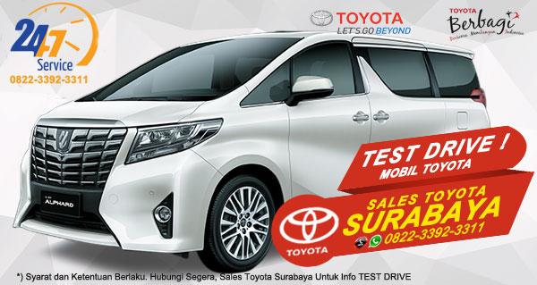 Info Test Drive Toyota Alphard Surabaya