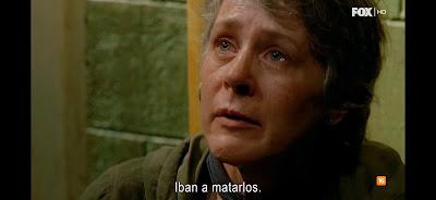 Carol en plena crisis.