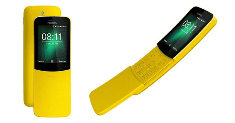 Nokia 8110 4G is priced at just PHP 3,990!