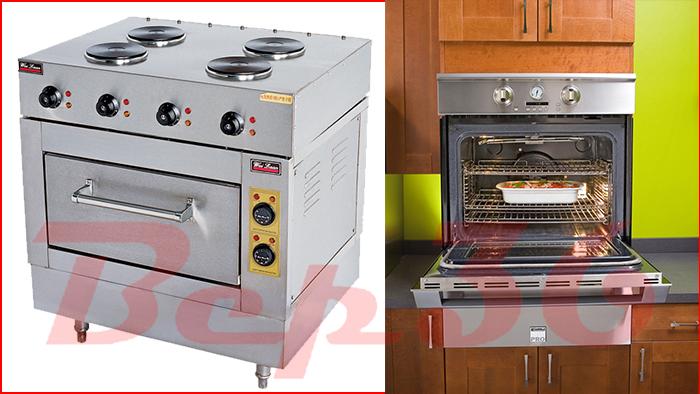 Các thông số kĩ thuật lò nướng kèm 4 bếp điện