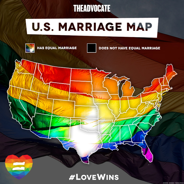 Equal Marriage Now Legal in ALL 50 States!