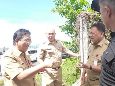 Gubernur dan Wagub Pantau Lokasi Pembuatan MORR 3
