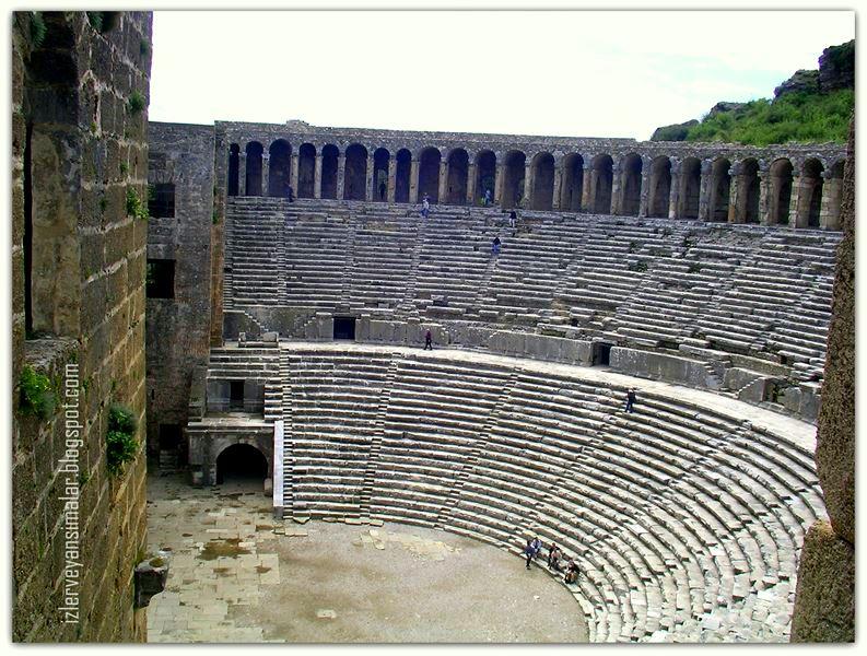 Aspendos Antik Kenti Tarihi : Aspendos tiyatrosu antik kent gezi rehberi