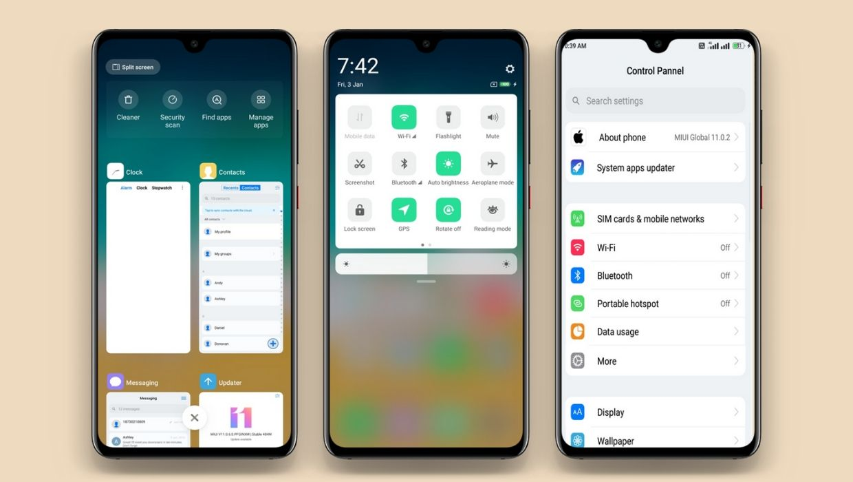 Mix iOS MIUI 11 Theme