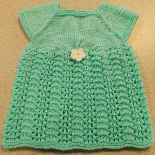 Meadow Sweet Baby Dress - Free Pattern