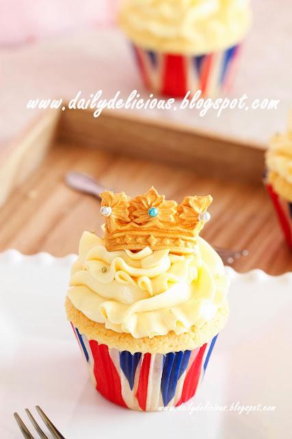 King Cake Cupcake Recipe