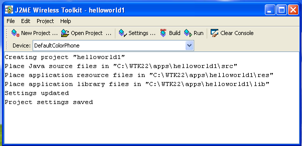 J2ME made simple by Hello World Example – Rock The IT