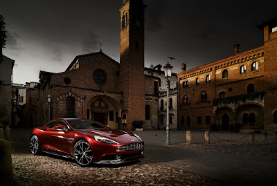 New Aston Martin Vanquish All Press Photos