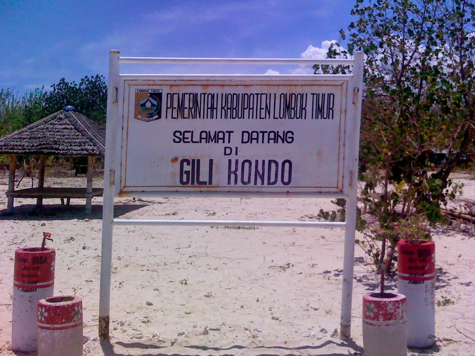Lokasi Gili Kondo di Lombok Timur
