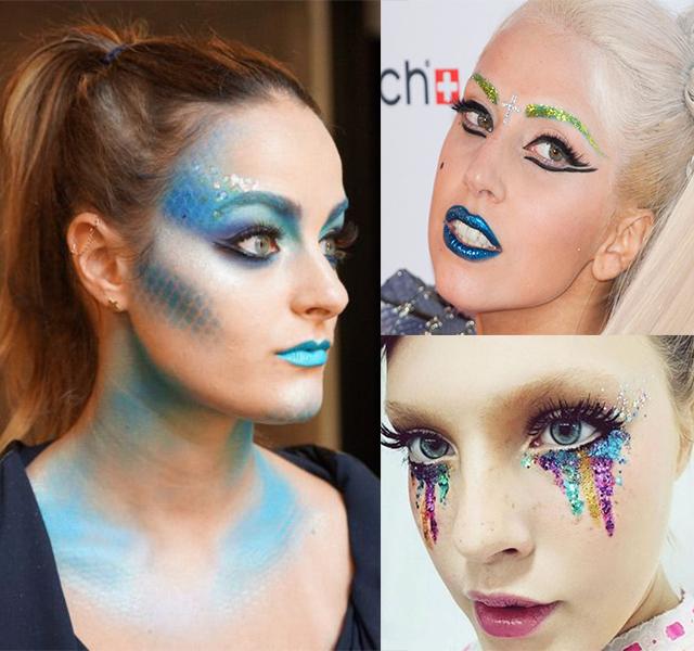 Sereia + Lady Gaga + Glitter