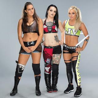WWE NXT Mandy Logan Ruby Riott Invasion SmackDown Live