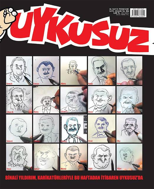 Uykusuz Dergisi - 26 Mayıs 2016 Kapak Karikatürü