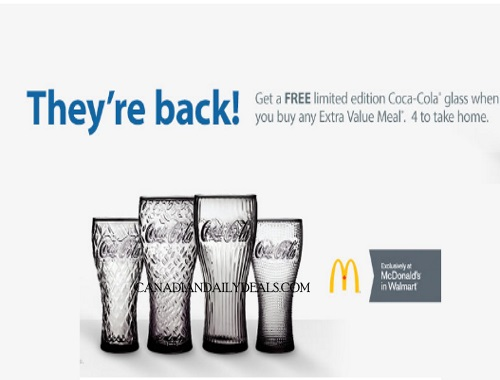 Mcdonalds Free Coke Glasses are Back!