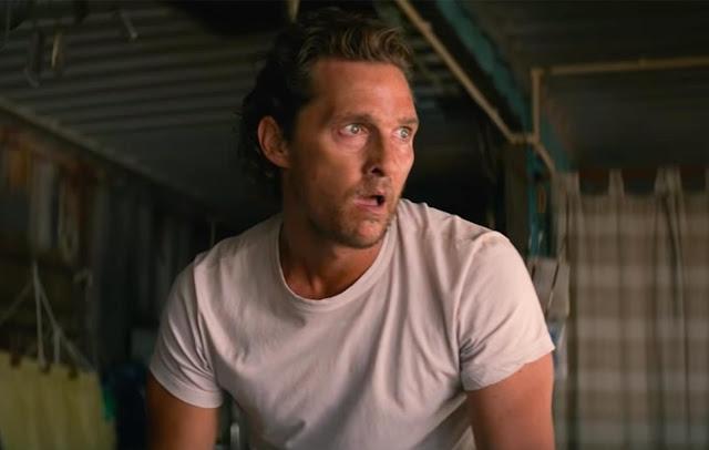 """Matthew McConaughey é recrutado para matar no trailer inédito de """"Calmaria"""""""