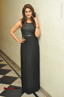Actress Surabhi Stills in Black Long Dress at turodu Audio Launch  0136.JPG