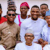 President Buhari Breaks His Ramadan Fast With Tobi Bakre, Wizkid's Ex, Tania Omotayo, And Some Other Entertainers (Photo)