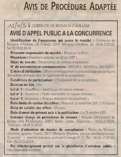 Appel concurrence constrats assurance