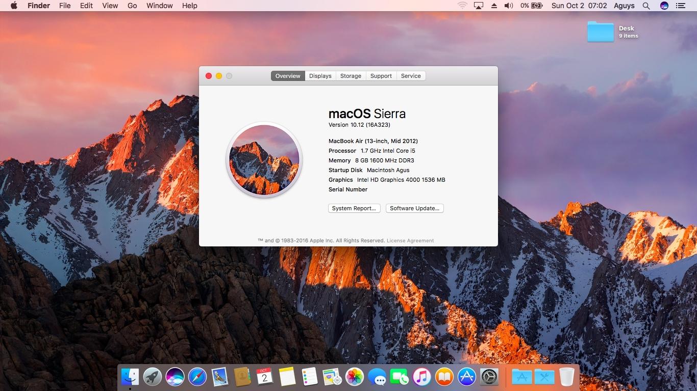 Cara Install Hackintosh Sierra Di Acer V5-471G ~ Agus Blog: Blog Gak