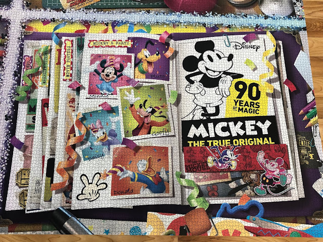 #Ravensburger #disney #Mickey90 #picturingdisney #TFNY2019