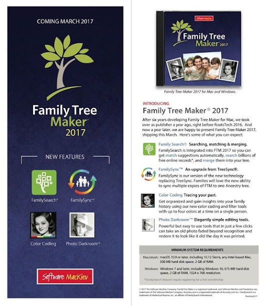 Family Tree Maker 2017