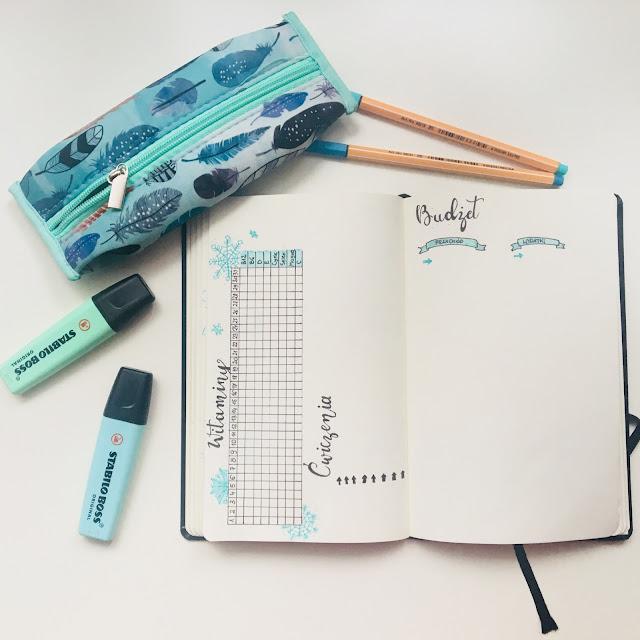 bullet journal inspiracje