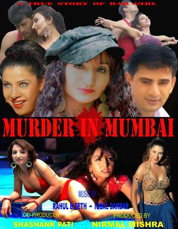 Poster Of Murder In Mumbai 2012 Hindi 720p HDRip Free Download Watch Online