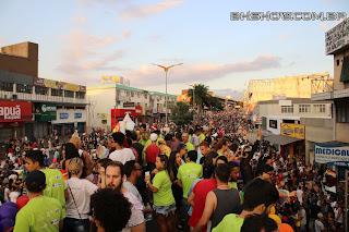 IMG 0068 - 13ª Parada do Orgulho LGBT Contagem reuniu milhares de pessoas