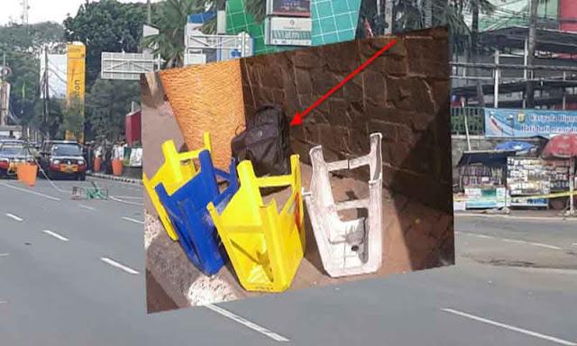 Bom Mall ITC Depok, Ternyata Tas Berisi Pakaian