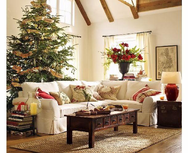 Decorar sala en navidad