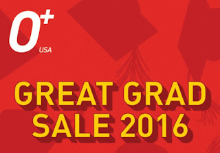 O+ Great Grad Sale 2016, Get Discount Up To Php3000