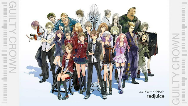 10 Void Terkuat Dalam Anime Guilty Crown