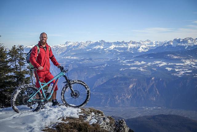 Aussicht Monte Roen Bozen Bike