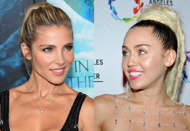 Miley Cyrus y Elsa Pataky se realizan el mismo tatuaje (FOTO)