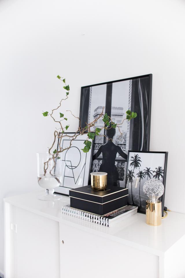 Villa H, mustavalkoiset taulut, desenio, julisteet,