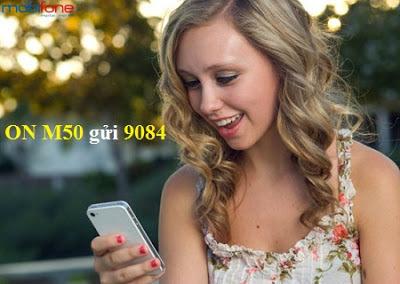 Cú pháp đăng ký gói M50 Mobifone